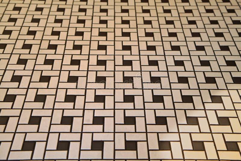 Plancher de tuiles de type de Deco image stock