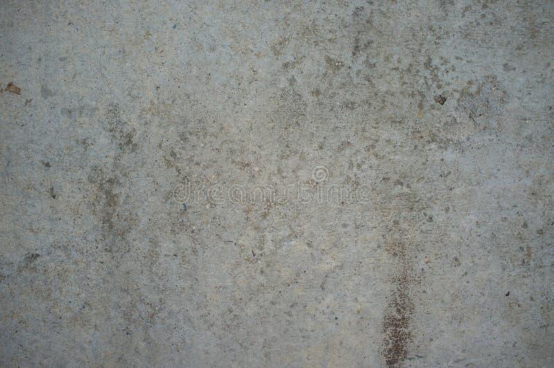 Plancher en béton gris de saleté photos libres de droits