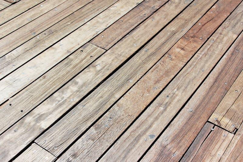 Plancher en bois photos libres de droits