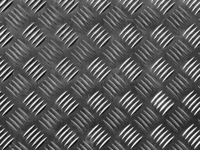 Plancher en métal photographie stock