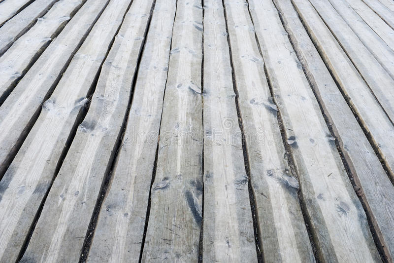 Plancher ext rieur en bois gris de terrasse photo stock for Plancher exterieur terrasse