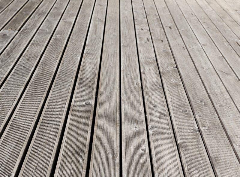plancher ext rieur en bois gris de terrasse image stock image du ligne industrie 41868087. Black Bedroom Furniture Sets. Home Design Ideas