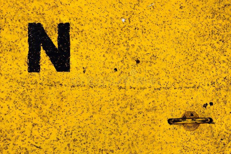Planchers jaunes photographie stock libre de droits