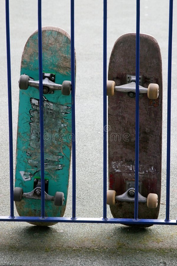 Planches à roulettes image libre de droits