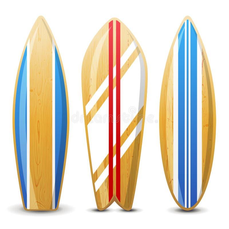 Planches de surf illustration libre de droits