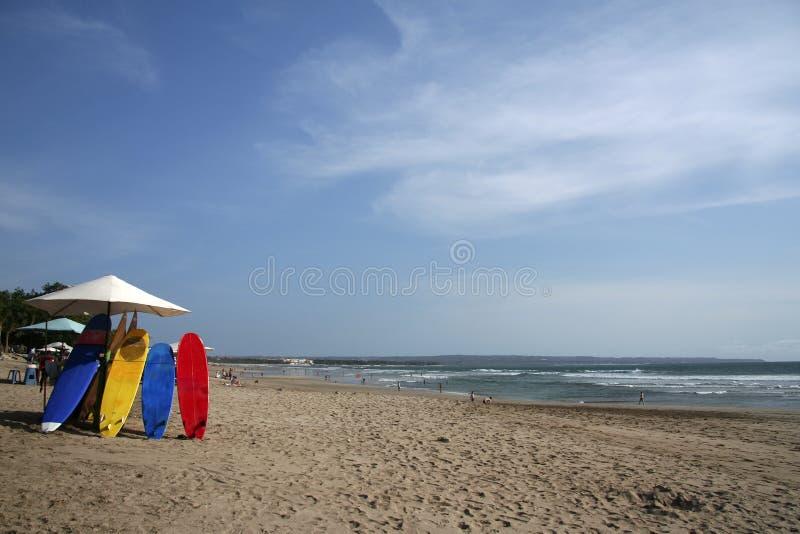 Planches de surfing de Kuta image libre de droits