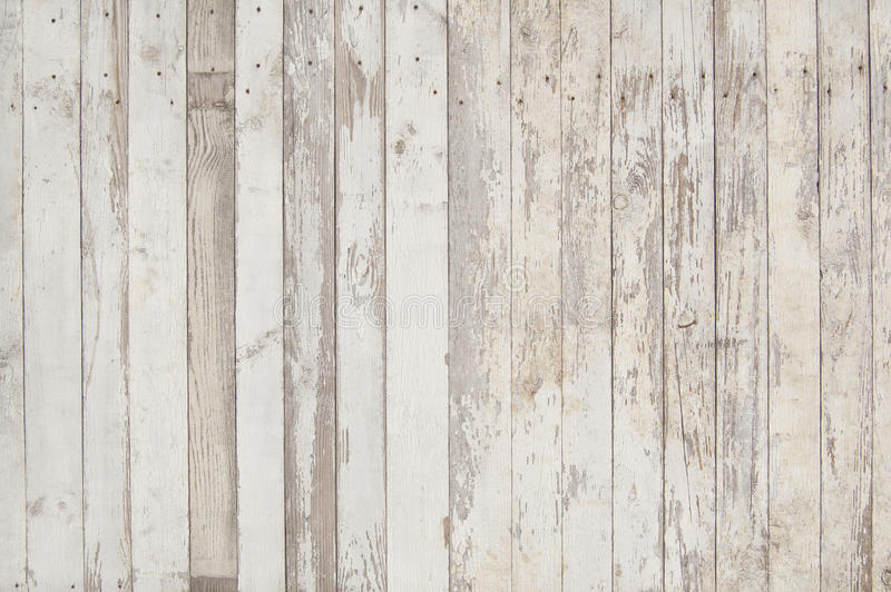 Planches en bois blanches et grises images stock