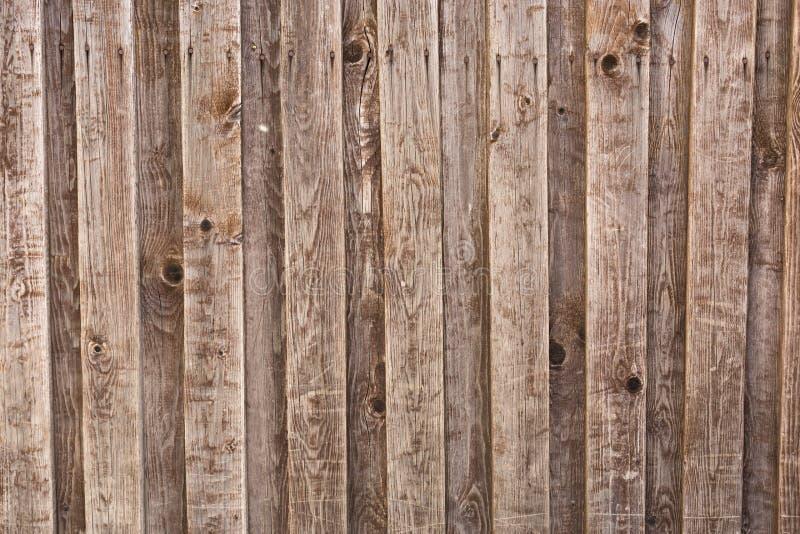 Planches en bois de fond de vieille maison, vieux bois traité image libre de droits