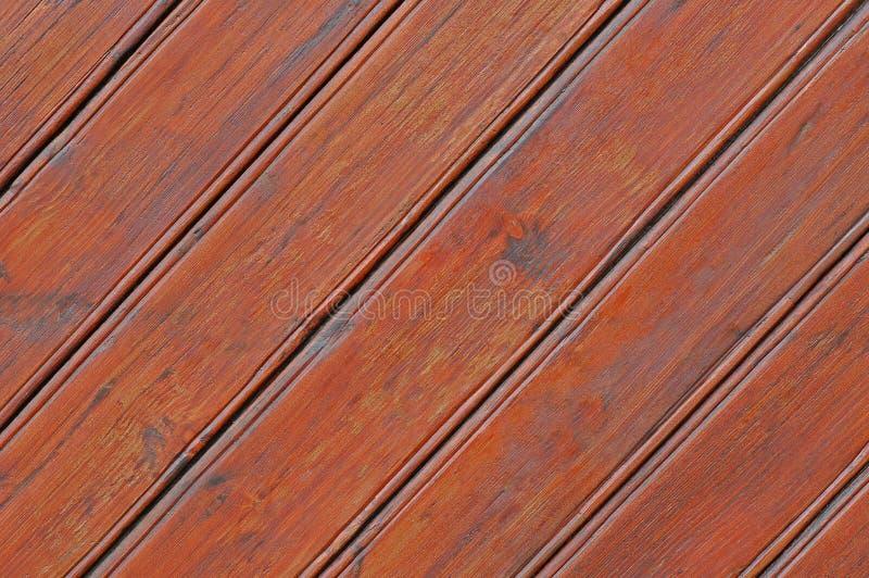 Planches en bois naturelles diagonal photographie stock