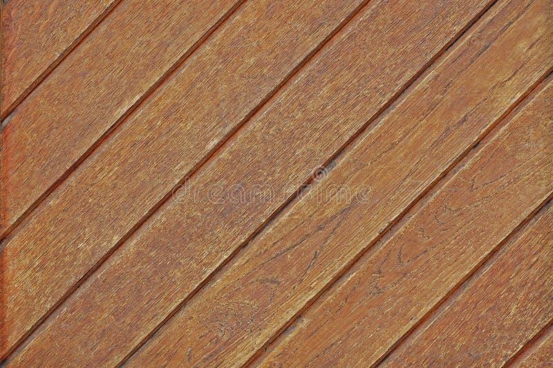 Planches en bois naturelles diagonal photos stock