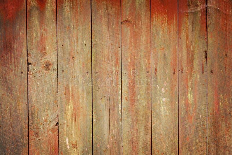 Planches en bois superficielles par les agents photographie stock