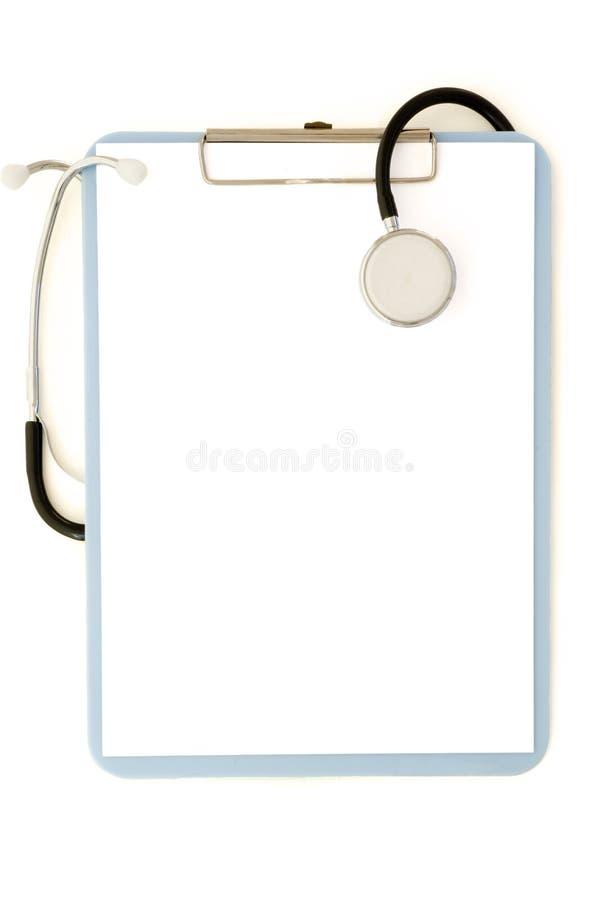 Planchette médicale photo libre de droits