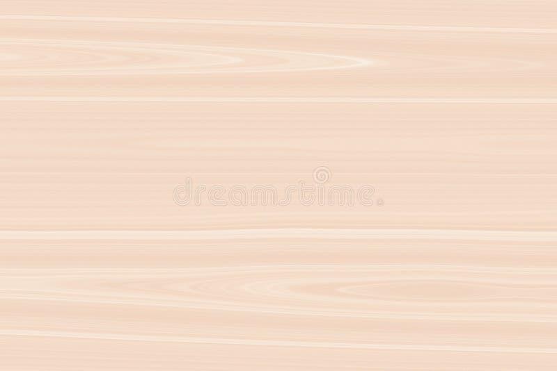 Plancia di legno pallida rossa del fondo, legno duro ruvido illustrazione vettoriale