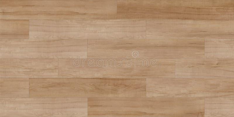 Plancia laminata, mappa senza cuciture di struttura delle mattonelle di legno per i grafici 3d, immagini stock