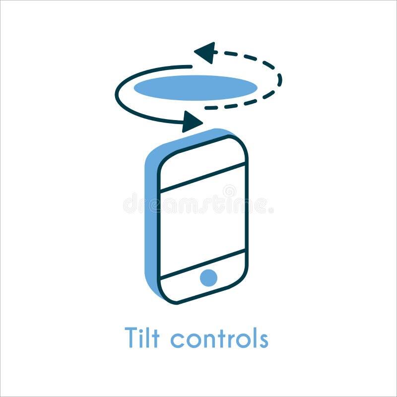Plandek kontrola mieszkania linii ikona ilustracji