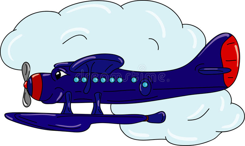 Download Plane stock vector. Image of water, transportation, airliner - 17300684
