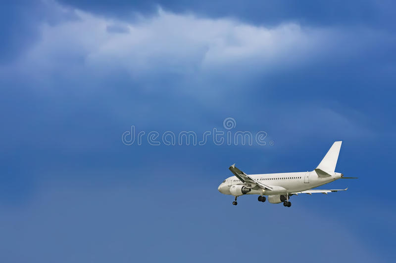 The plane royalty free stock images