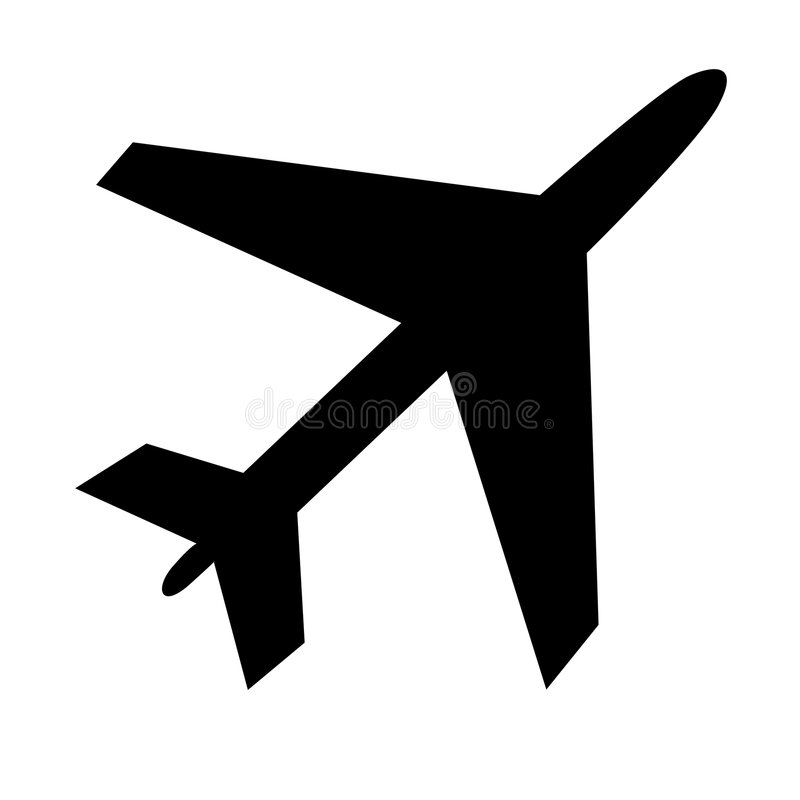 Download PLANE stock vector. Image of scalable, plane, flight, aircraft - 8109300