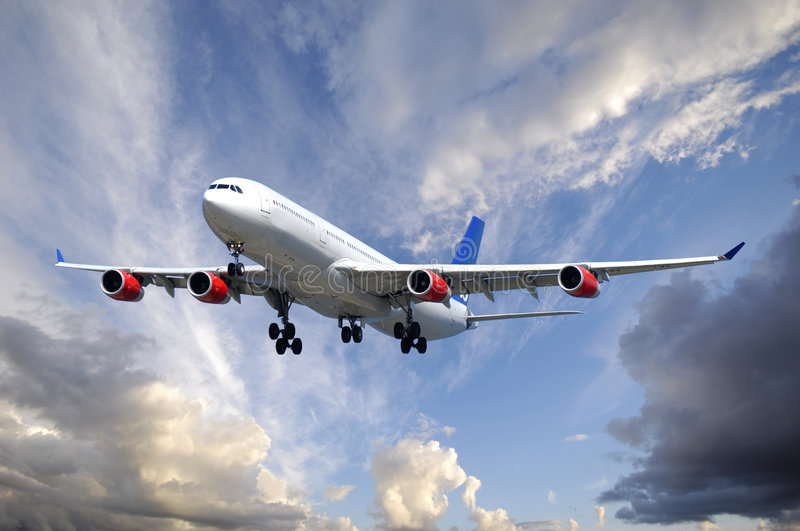 Download Plane And Clouds Stock Photos - Image: 2955503