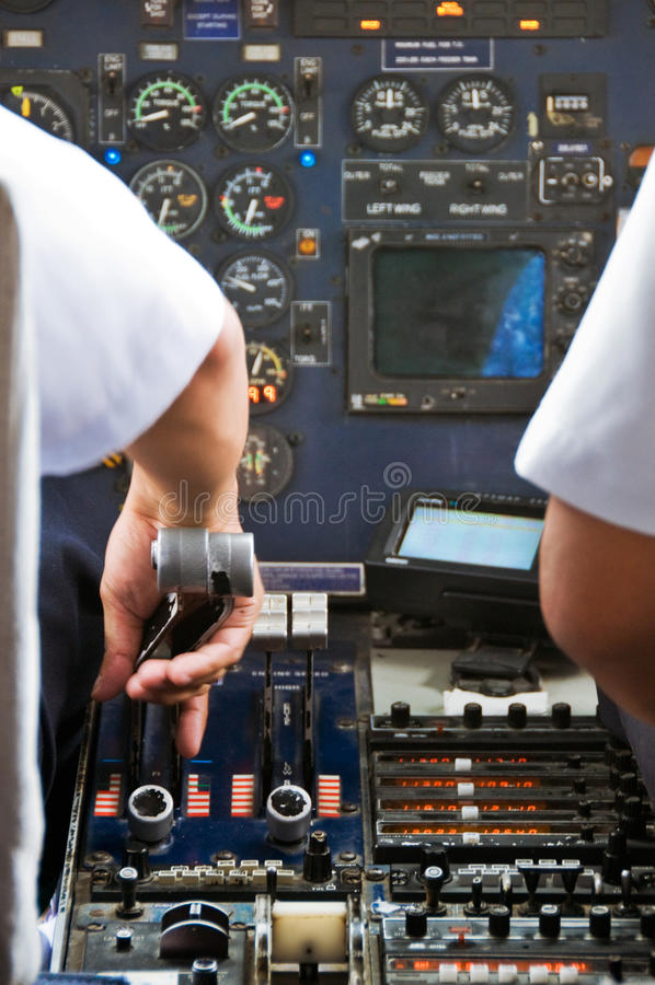 Free Plane Cockpit Royalty Free Stock Photography - 10365267