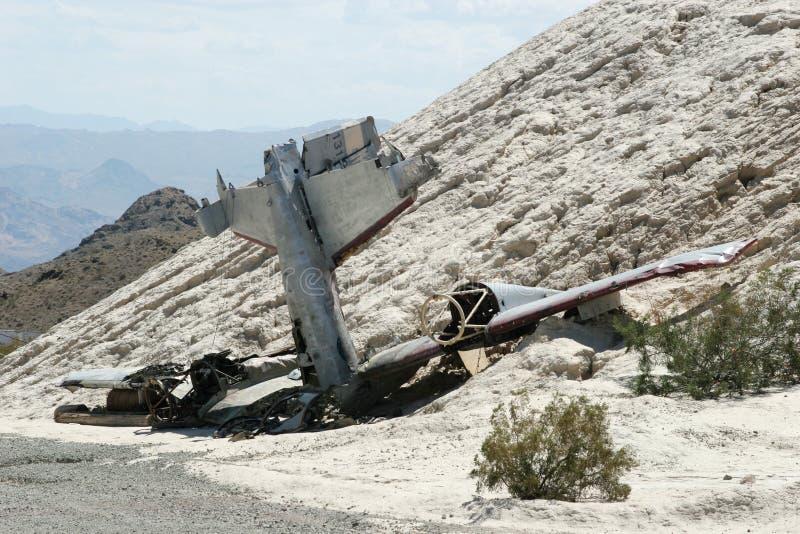 Plane crash royalty free stock photos