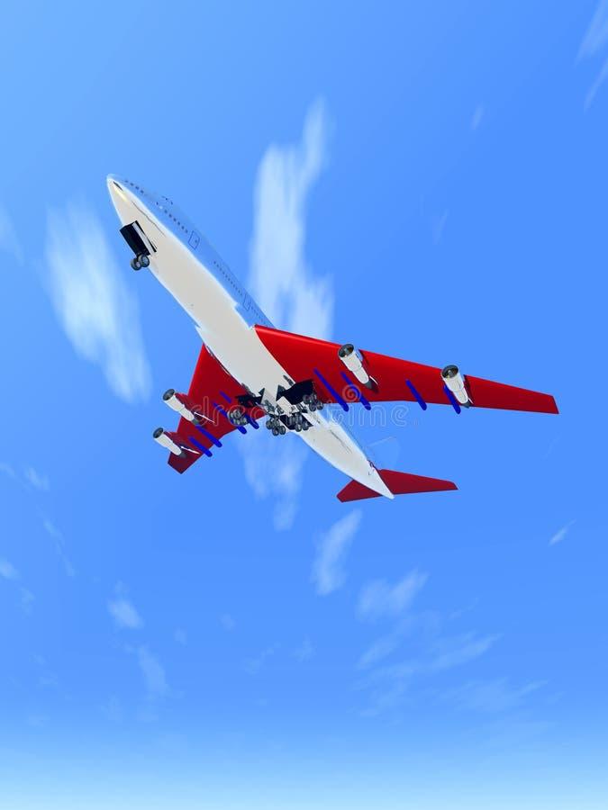 Download Plane Flying 65 stock image. Image of aeronautical, vacation - 1991839