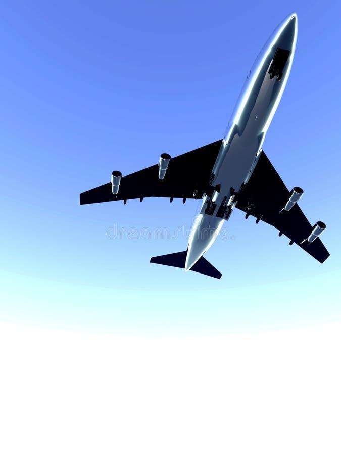 Download Plane Flying 72 stock image. Image of transport, blue - 1791777