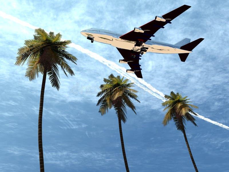 Download Plane Flying 8 stock illustration. Illustration of travelling - 1742510