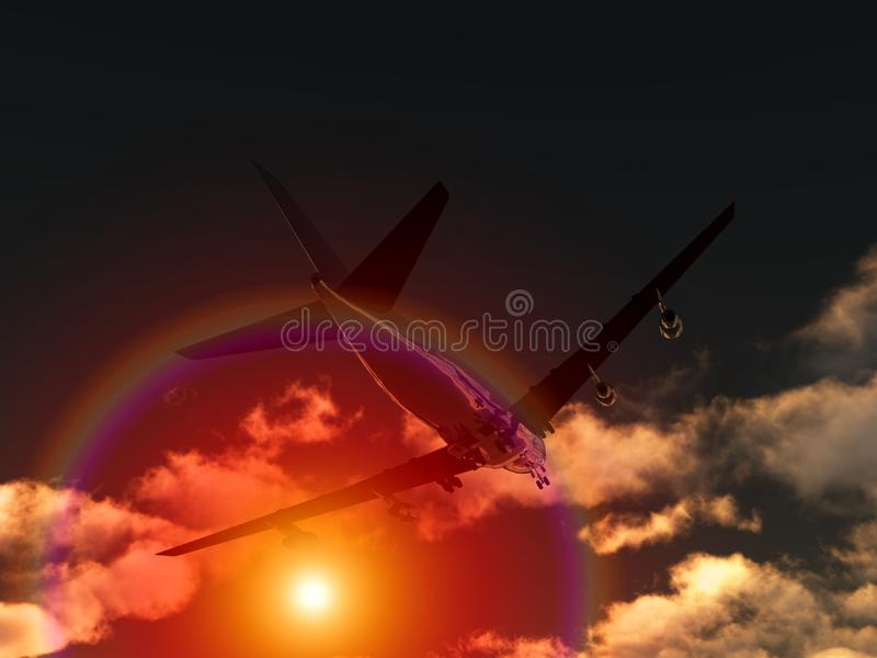 Plane Flying 80 stock images
