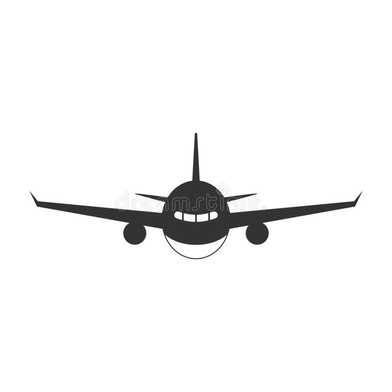 Plane  icon graphic design template vector isolated stock illustration