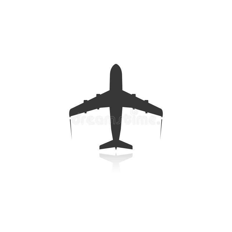 Plane icon. Passenger plane icon. vector. eps10 vector illustration
