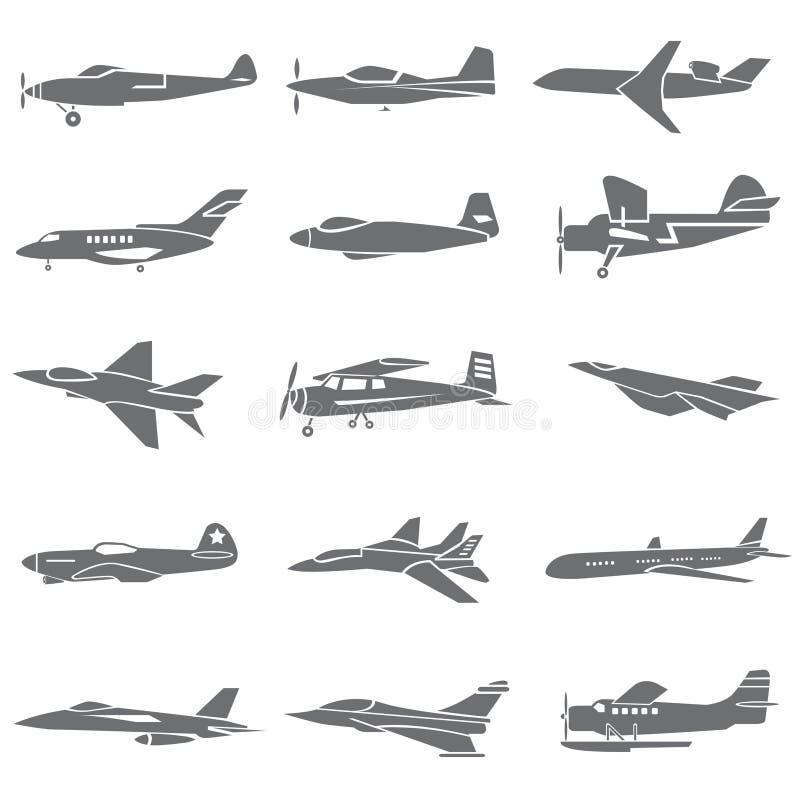 Plane icons vector illustration