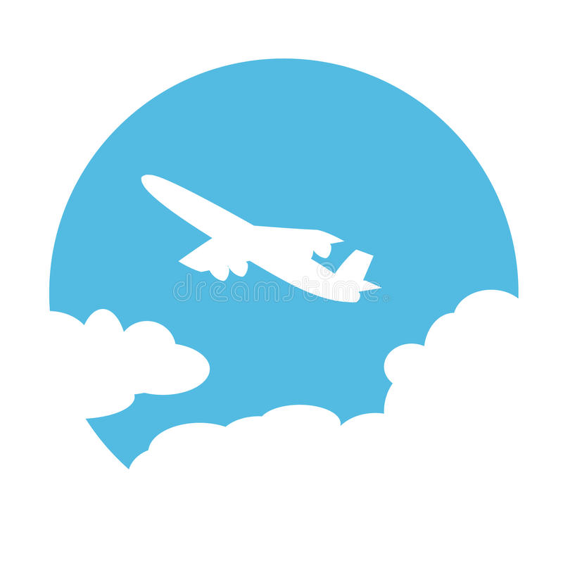 Free Plane In The Sky Royalty Free Stock Image - 15114516
