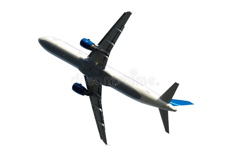 Plane isolated royalty free stock images