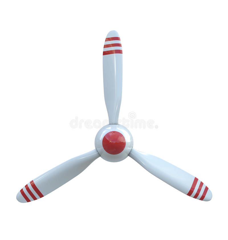 Free Plane Propeller With 3 Blades Stock Image - 20065031