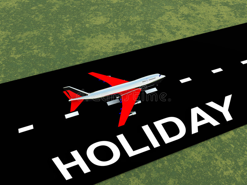 Download Plane With Runway 5 stock illustration. Image of word - 4784417