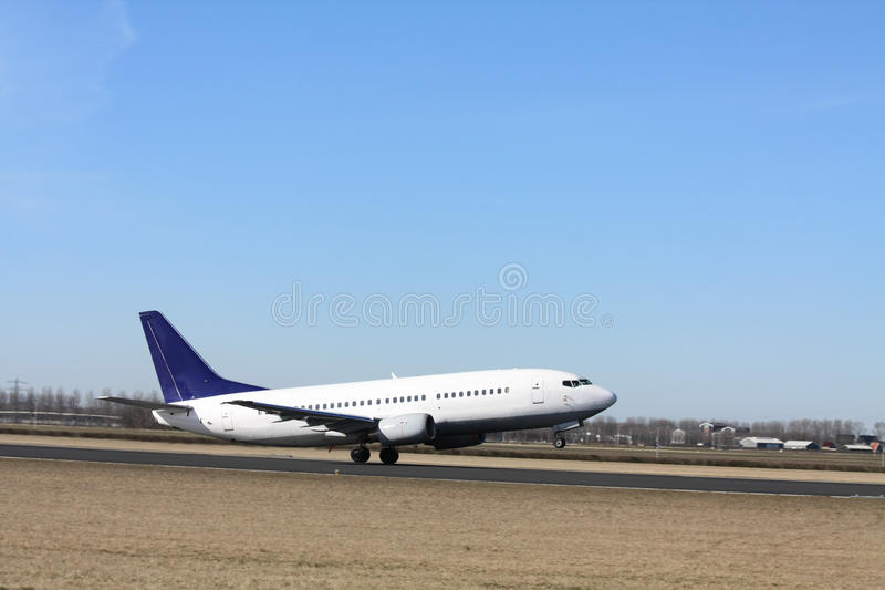 Download Plane Seconds Before Take Off Stock Photo - Image: 13319914