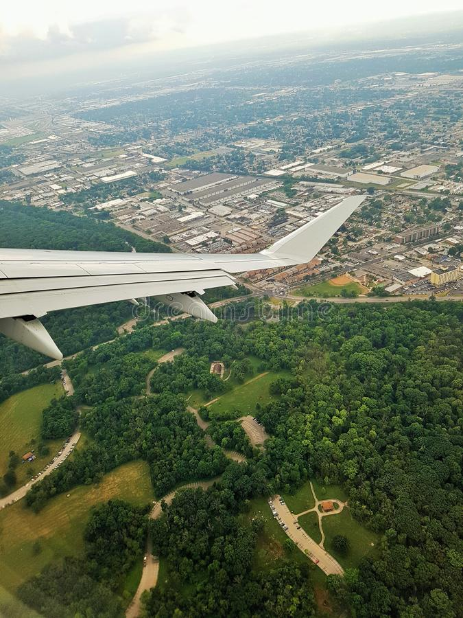 Free Plane Taking Off From Chicago Royalty Free Stock Images - 159986819