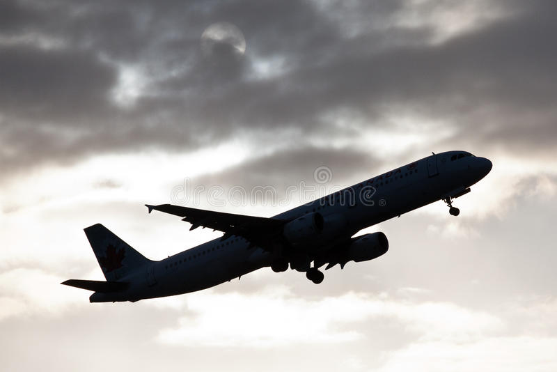 Download Plane Taking Off Silhouette Stock Image - Image: 23673855