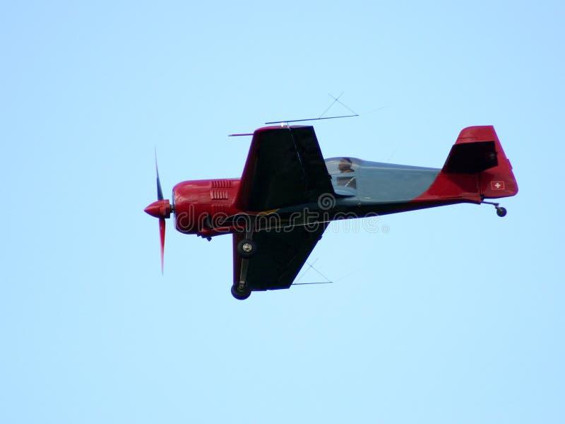 The plane VI stock image