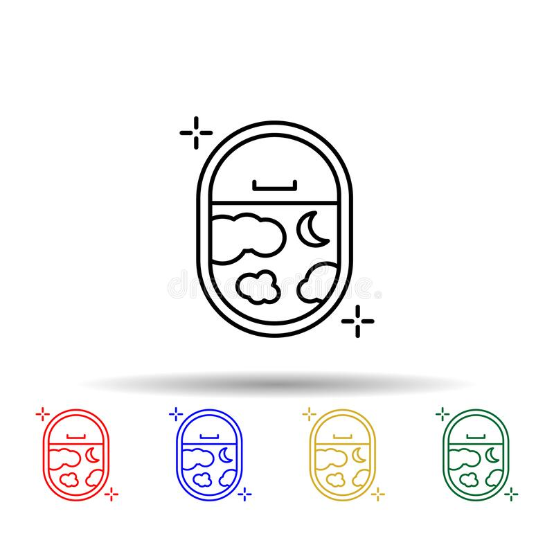 Plane Icon. Detailed Set Of Transport Outline Icons