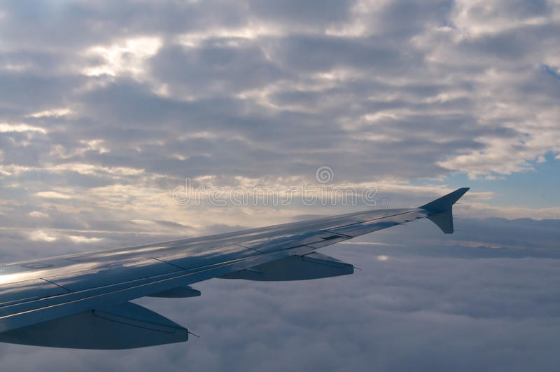 Download Plane wing stock image. Image of trip, fuselage, airplane - 25622729
