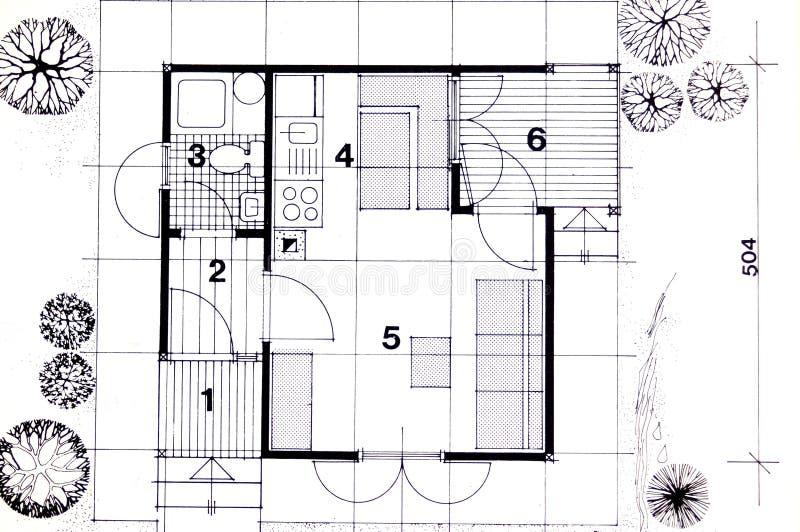 Planeamento da arquitetura imagem de stock royalty free