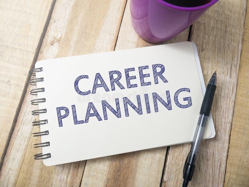 Planeamento de carreira, citações inspiradas inspiradores fotografia de stock royalty free