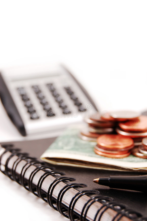 Planeamento financeiro imagens de stock royalty free