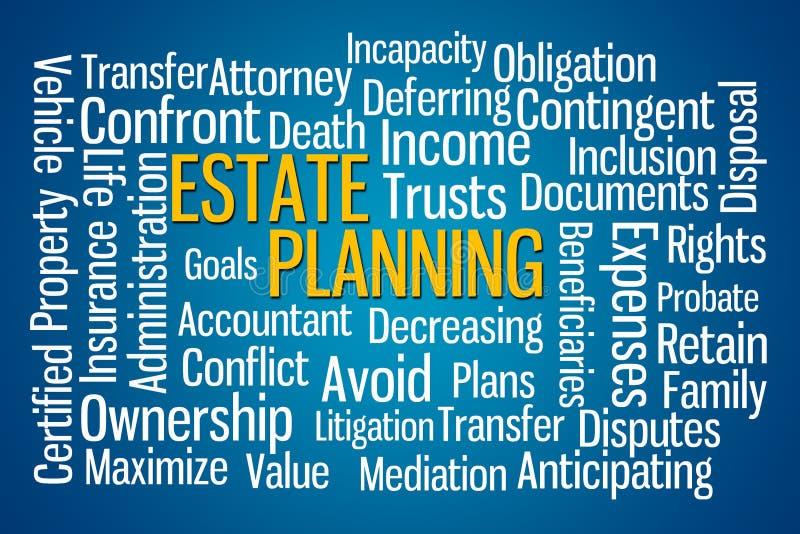 Planeamento imobiliário ilustração do vetor