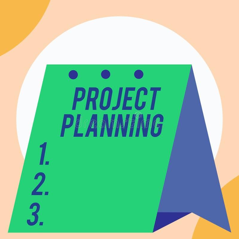 Planeamiento de proyecto del texto de la escritura Concepto que significa horario tales como cartas de Gantt para planear grande  fotos de archivo