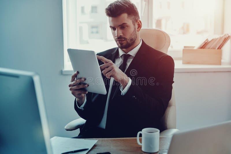 Planeando seu negócio imagem de stock royalty free