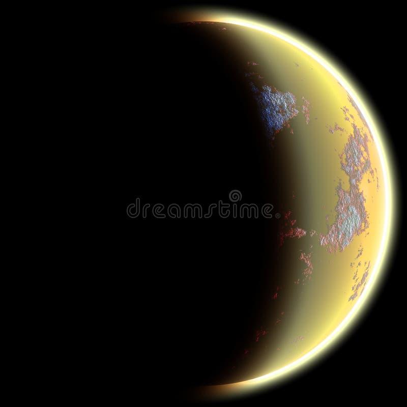 Planeet royalty-vrije illustratie