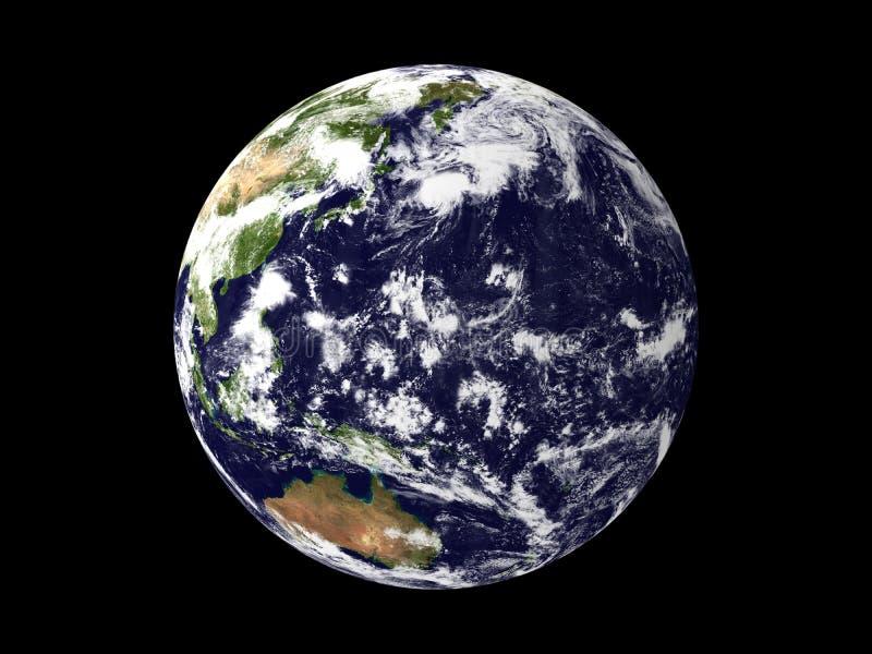 Planeet de Aarde stock foto's